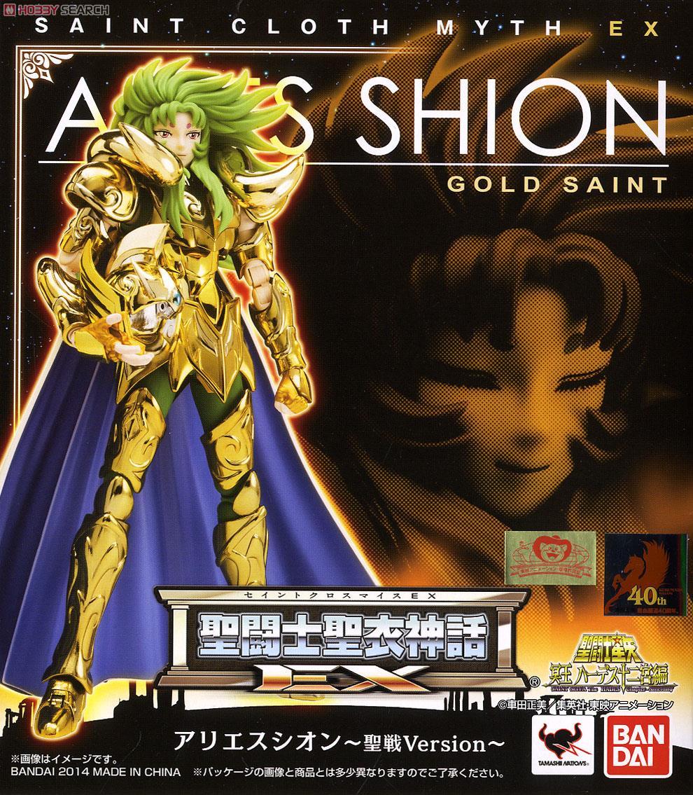 มี1กล่องรอยืนยันก่อนโอน Saint Cloth Myth EX Aries Sion -Holy War Version- (PVC Figure)