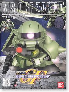 218 MS06-F Zaku II (SD)เขียว