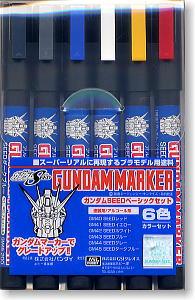 (เหลือ 1 ชิ้น รอเมล์ฉบับที่2 ยืนยัน ก่อนโอน) gms109 Gundam SEED Basic Set มาร์คเกอร์เซต SEED