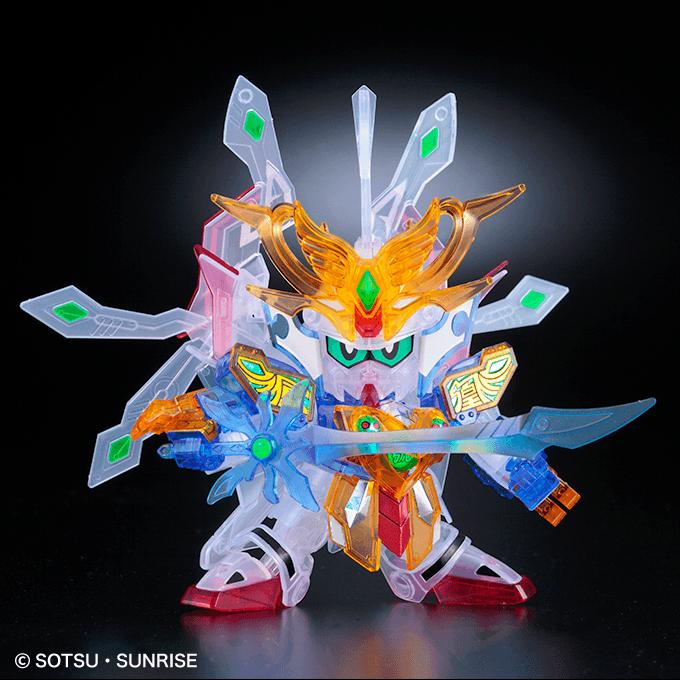 Limited Gundam BASE Tokyo SD LEGEND BB Musha Godmaru (final battle ver.) [Clear color]