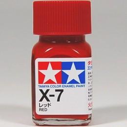 80007 Enamel x7 red