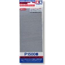 87059 finishing abrasives p1500*3 (93*228 mm.) กระดาษทรายเบอร์ 1500