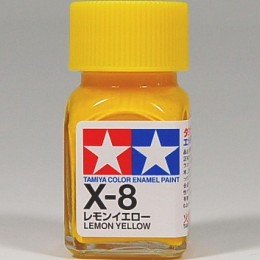 80008 Enamel X8 lemon yellow