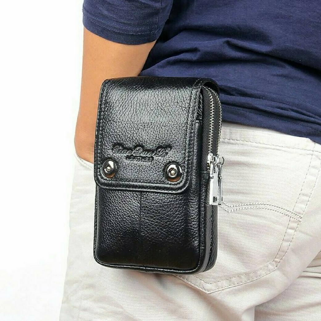 กระเป๋าร้อยเข็มขัด สำหรับใส่โทรศัพท์ พาสปอร์ต และอุปกรณ์ต่างๆ สำหรับท่านชาย