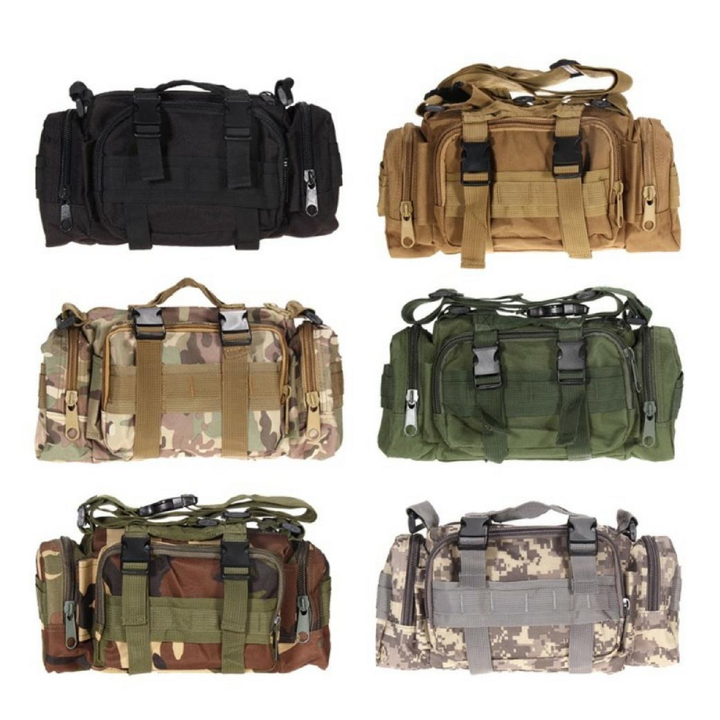 กระเป๋าอเนกประสงค์ สามารถเป็นกระเป๋าคาดอก กระเป๋าคาดเอวและกระเป๋าสะพายข้างได้ เหมาะสำหรับท่านที่ชอบเดินป่า ผจญภัย