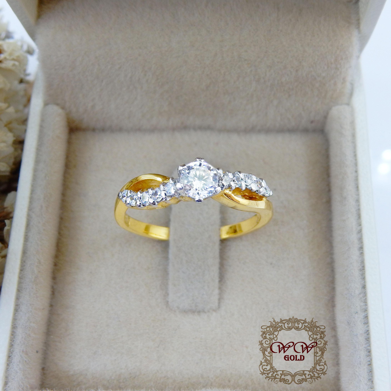 แหวนเพชรสไตล์สวยคลาสสิค