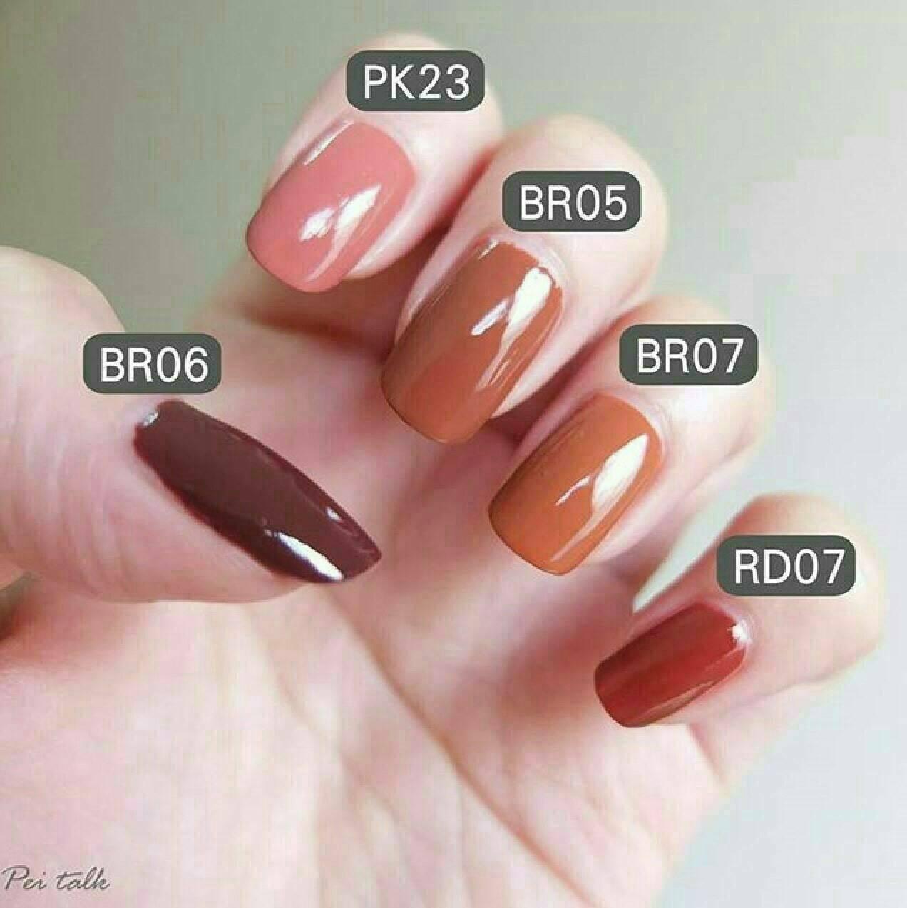 �ล�าร���หารู��า�สำหรั� 3CE Mood Recipe Long Lasting Nail Lacquer BR07