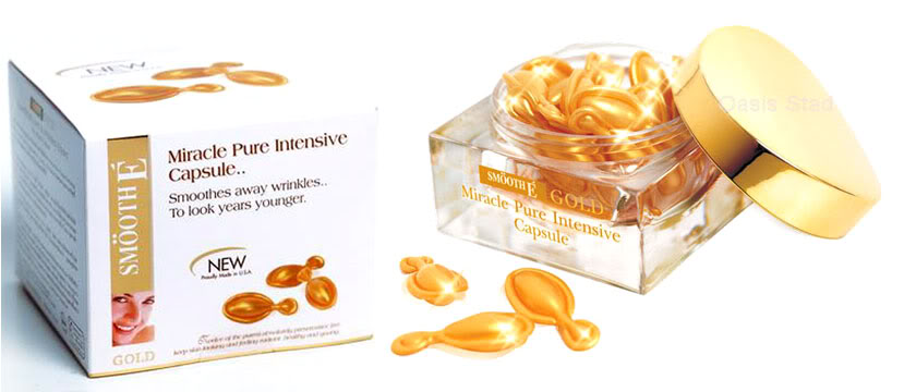 Smooth E Gold Miracle Pure Intensive Capsule 12 capsule