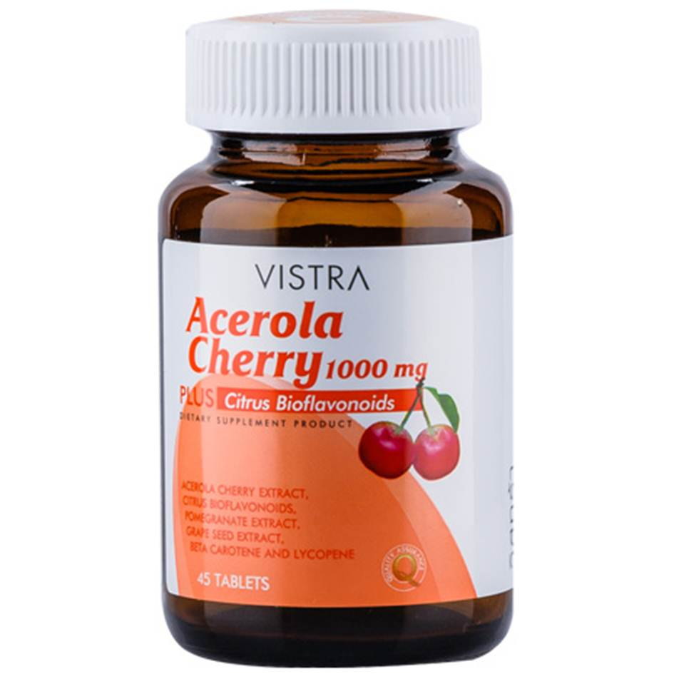 VISTRA ACEROLA 1000mg 45 เม็ด
