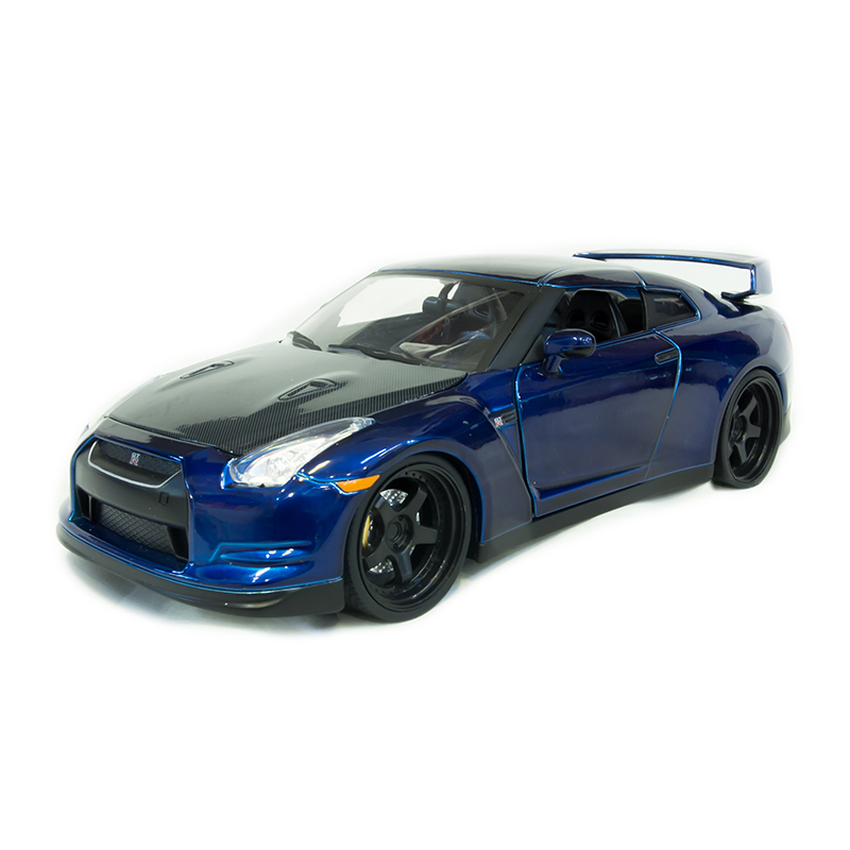 Jada Toys - รถโมเดล Brian's Nissan GT-R [R35] (Scale 1:24)