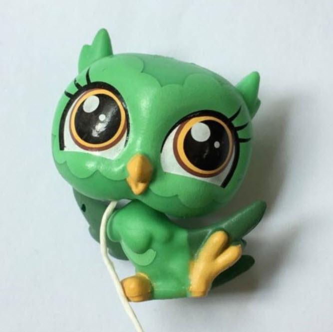 นกฮูก สีเขียว
