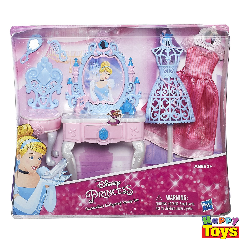 disney princess cinderella's enchanted vanity set โต๊ะเครื่องแป้งซินเดอเรลล่า ชุดแต่งตัวซินเดอเรลล่า