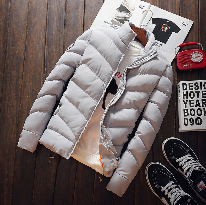 Winter men's jacket korean style