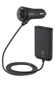Road Rockstar: 4-Port Passenger Car Charger