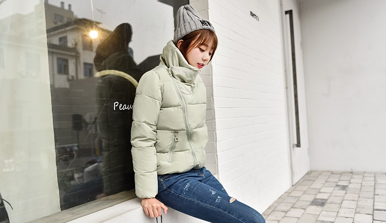 Korean women's winter jacket (Beige)