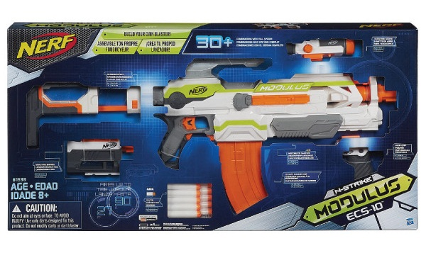 ปืนเนิร์ฟ Nerf N-Strike Modullus ECS-10 ปืนNerf ปืนที่สามารถออกแบบได้ตามใจ