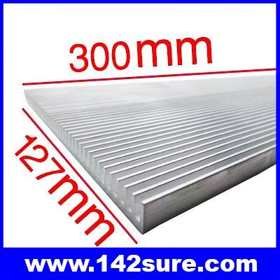 SIK005: ฮีทซิงค์ ระบายความร้อน หลอดไฟ LED อะลูมิเนียมระบายความร้อน 300mm Long Wide Aluminum heat Sinks for LED DIY Aquarium Light Cooling