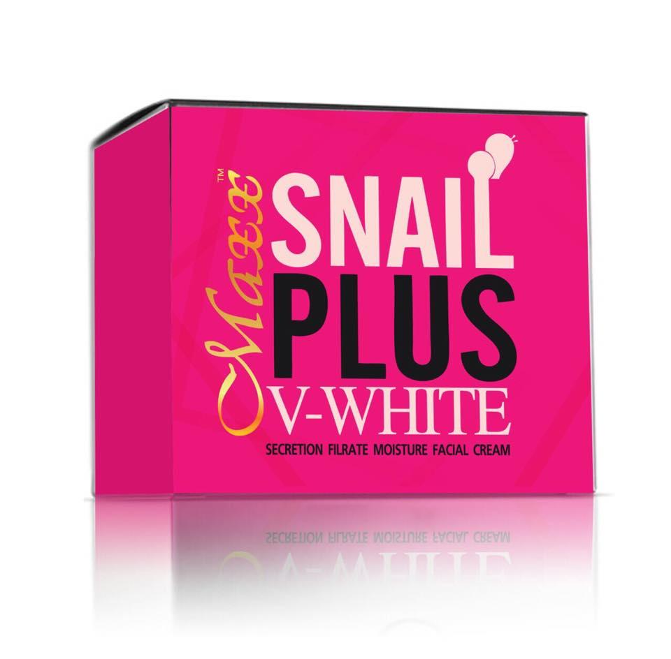 Maxx Snail Plus V WHITE เป็น Snail Cream หรือ ครีมหอยทาก