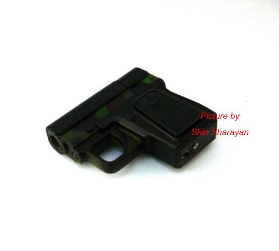 ไฟแช็คปืนออโต้สีพราง
