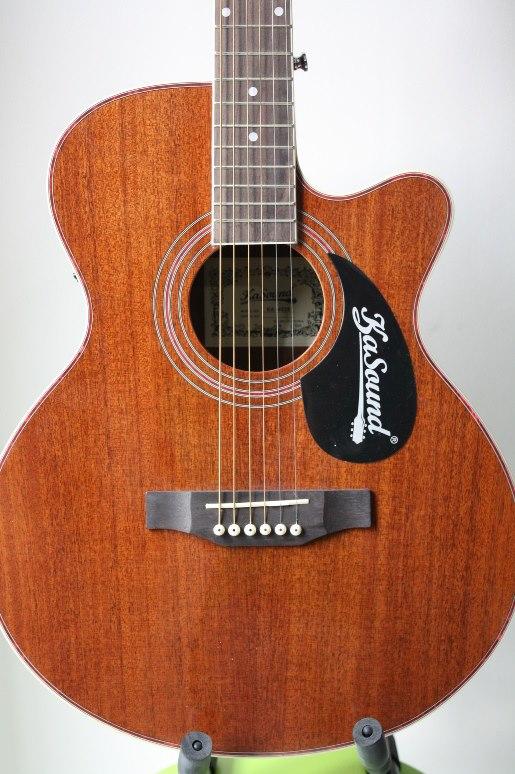 กีต้าร์ โปร่งไฟฟ้า Guitar KaSound All Mohogany