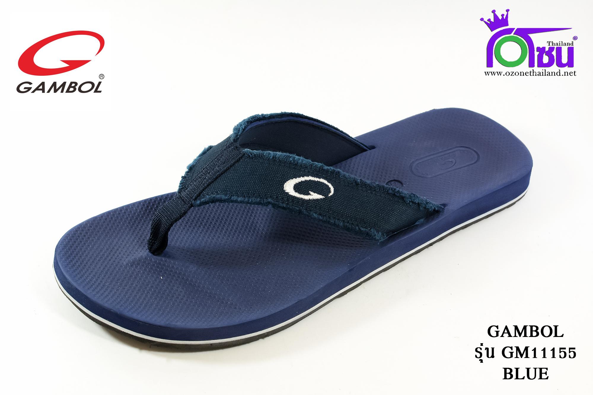 รองเท้าแตะGambol แกมโบล รหัส GM11155 สีกรม เบอร์ 40-44