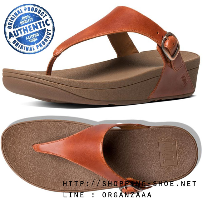 US6 : Fitflop The Skinny Leather Dark Tan ของแท้ นำเข้าจาก USA และ UK