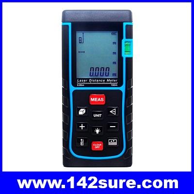 DMT020 เครื่องมือวัดระยะ เครื่องวัดระยะเลเซอร์ดิจิตอล มิเตอร์วัดระยะแบบเลเซอร์ 100 เมตร Laser Distance Meter (LDM-100)