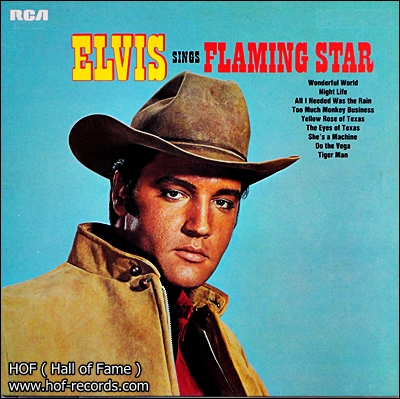 Elvis - Sings Flaming Star 1 Lp
