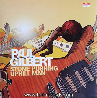 Paul Gilbert - Stone Pushing Uphill Man 1lp N.
