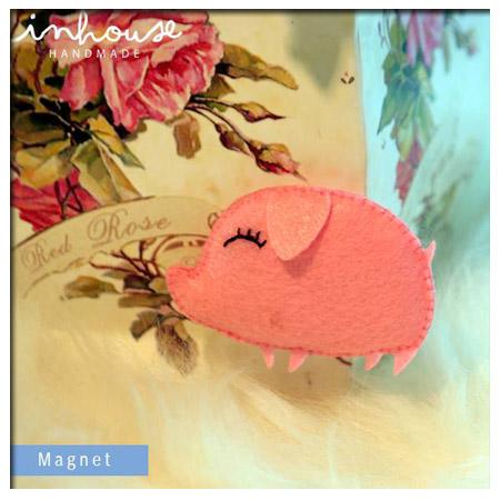 Magnet แม่เหล็ก Pig ของเล่นเสริมพัฒนาการ เสริมสร้างจินตนาการ