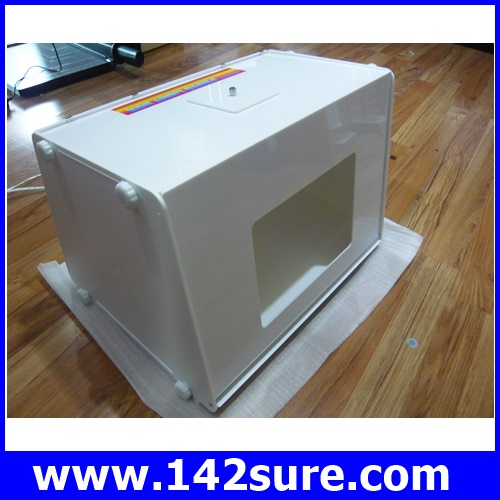 PLT001 กล่อง ไฟสตูดิโอ กล่องไฟถ่ายรูปสินค้า ตู้ไฟถ่ายรูป อุปกรณ์ช่วยถ่ายรูปสินค้า กล่องไฟถ่ายภาพสินค้า ขนาด30cm ( 12″ ) mini MK30 Photo studio light tent sof ยี่ห้อ OEM รุ่น MK30