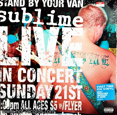 Sublime - Stand By Your Van 1Lp N.