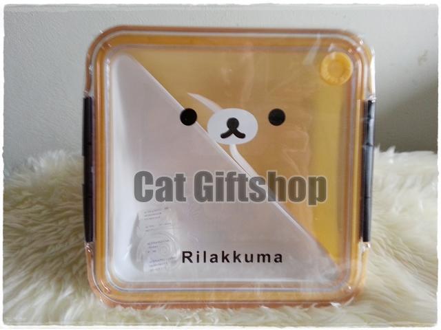 พร้อมส่ง :: กล่องข้าว Rilakkuma ขนาดใหญ่