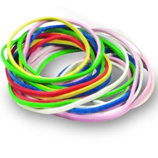 ของเล่นเด็ก ของเล่นเสริมพัฒนาการ Rubber Bands 1/4 LB.