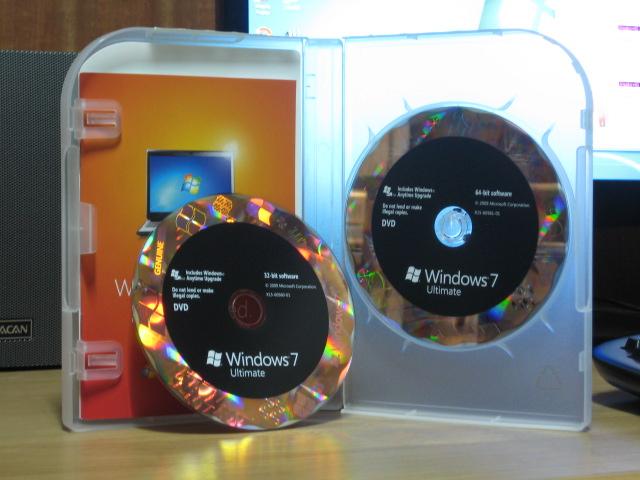 Window 7 Ultimate OEM ของแท้