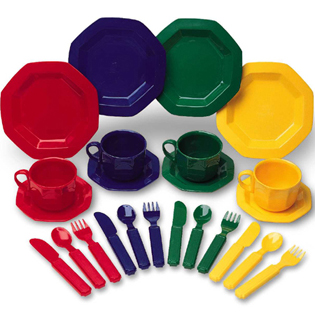 ของเล่นเด็ก ของเล่นเสริมพัฒนาการ Pretend & Play Dish Set