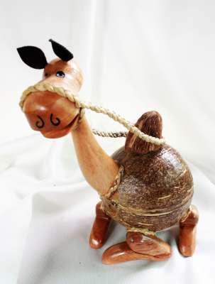 Coconut Shell Donkey Saving (ออมสินกะลามะพร้าวรูปอูฐ)