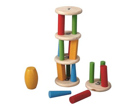 ของเล่นไม้เสริมพัฒนาการเด็ก Tower Tumbling (ส่งฟรี)
