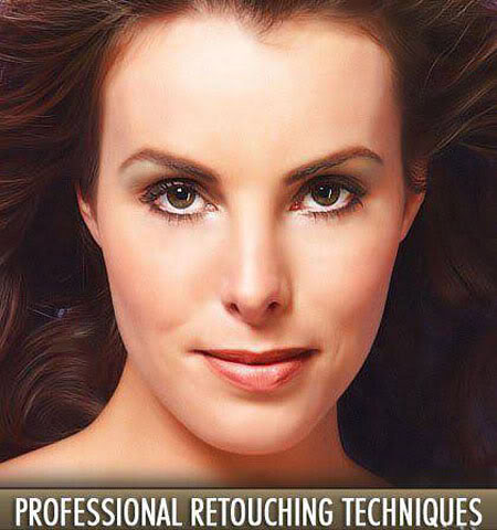 สุดยอด DVD สอนรีทัชภาพ Professional Retouch