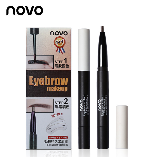 Novo 2step Eyebrow Makeup โนโว คิ้วสวยปังด้วย 2 ขั้นตอน ราคาปลีก 100 บาท / ราคาส่ง 80 บาท