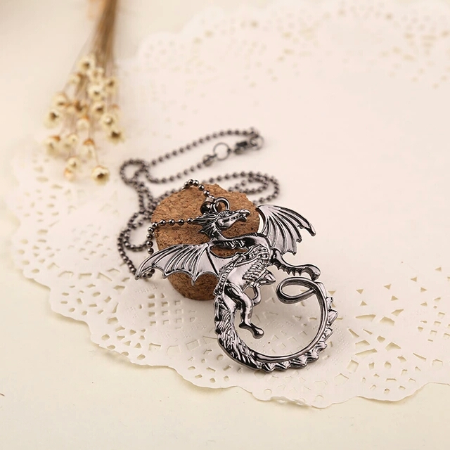 Dragon Game of thrones necklace