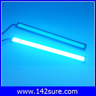 LFC038 ไฟเดย์ไลท์LED ไฟตัดหมอก จำนวน1คู่ แสงสีIce Blue DayLight LED COB 9W 12V Ultra Bright 17cm High Quality