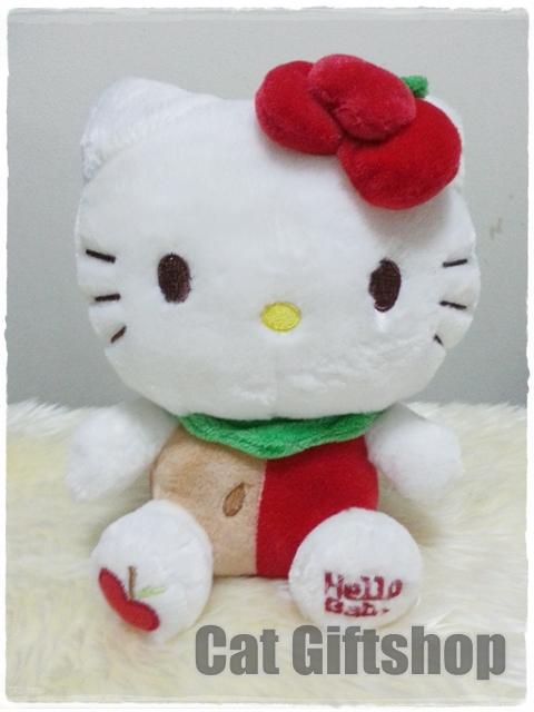พร้อมส่ง :: ตุ๊กตา Hello Kitty Apple 28 CM