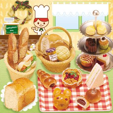 re-ment bread