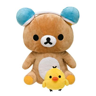 ตุ๊กตาหมีลำโพงเต้นได้ San-X Rilakkuma FR58101 น้ำตาล