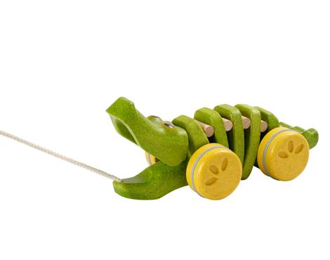 ของเล่นไม้ ของเล่นเด็ก ของเล่นเสริมพัฒนาการ Dancing Alligator จระเข้เต้นรำ (ส่งฟรี)