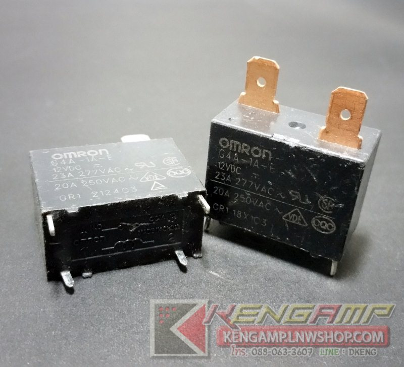 OMRON G4A-1A-E Relay 12V/20A