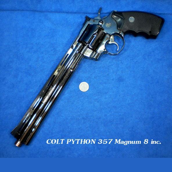 COLT PYTHON 357 Magnum 8 inc. (Lighter)