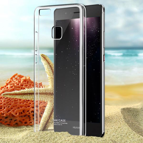 Case Huawei P9 lite ยี่ห้อ Imak II (เคสใสแข็ง) เคลือบสารกันรอยขีดข่วน