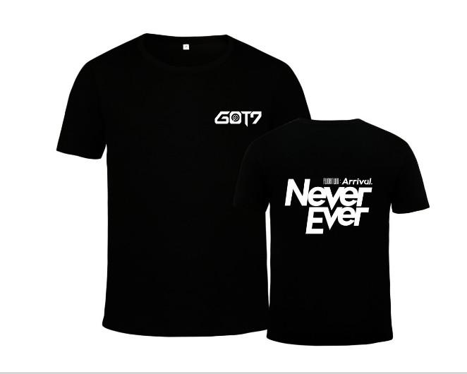 เสื้อยืด (T-Shirt) GOT7 - Never Ever